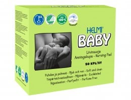 Helmi Baby kojící prsní polštářky 50ks