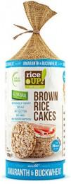 Rice Up Celozrnné rýžové chlebíčky - s pohankou, amarantem