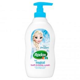 Radox Frozen dětský sprchový gel a pěna do koupele