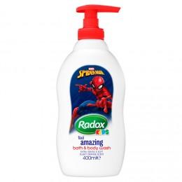Radox Spiderman dětský sprchový gel a pěna do koupele