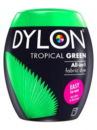 Dylon All-in-1 Tropical green barva na textil