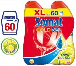Somat Gold Lemon Gel do myčky (60 mytí)