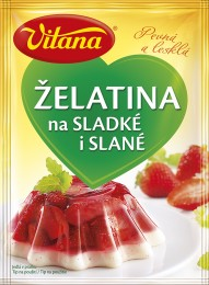 Vitana Jedlá želatina na sladké i slané v prášku