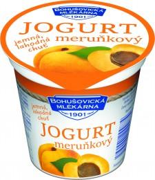 Bohušovická mlékárna jogurt meruňkový