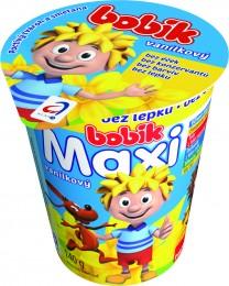 Bobík MAXI smetanový krém 14% vanilkový