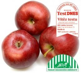 Jablka červená BIO - VÍTĚZ TESTU, balení
