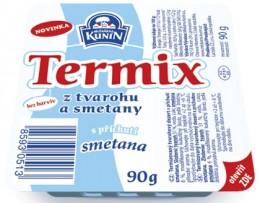 Mlékárna Kunín Termix s příchutí smetana