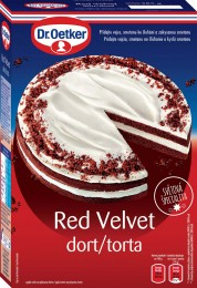 Dr.Oetker Red Velvet dort