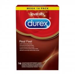Durex Real Feel bezlatexové kondomy 16ks