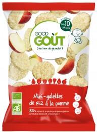 Good Gout BIO Mini rýžové koláčky s jablky