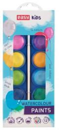 EASY Colours vodové barvy 12 barev