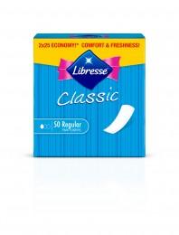 Libresse Classic Normal slipové vložky 50ks