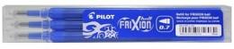 PilotNáplň pro Pilot Frixion Ball Clicker modrá 3ks