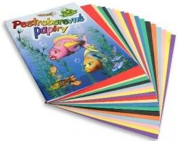 Papíry pestrobarevné A4 20 listů