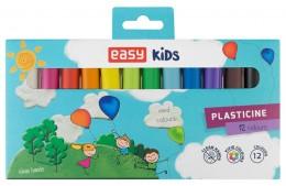 EASY Creative Plastelína 12 barev