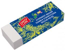 EASY Guma(pryž) školní syntetická bílá 1 ks