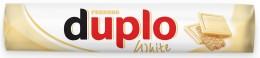 Ferrero Duplo Bílé Oplatka s polevou z bílé čokolády a lískooříškovou náplní