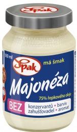 SPAK Majonéza bez konzervantů a barviv