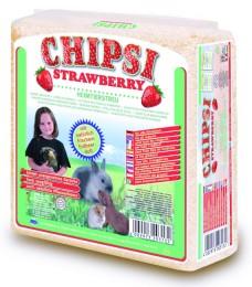Chipsy Strawberry hoblinová podestýlka (1kg)