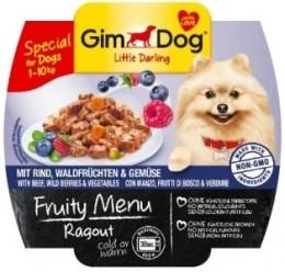Gimdog Fruity Ragout hovězí, lesní plody, zelenina