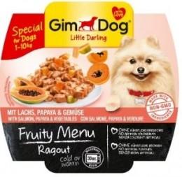 Gimdog Fruity Ragout losos, papája, zelenina