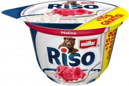Müller Riso mléčná rýže malina + 15% Zdarma
