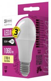 EMOS LED žárovka Premium A60 10,5W E27 teplá bílá
