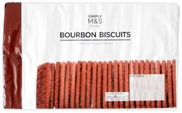 Marks & Spencer Pšeničné sušenky Bourboun biscuits s kakaovým krémem