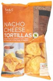 Marks & Spencer Kukuřičné tortilla chipsy s příchutí sýru