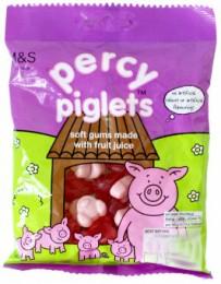 Marks & Spencer Ovocné žvýkací bonbóny Percy Pig™ s ovocnou šťávou