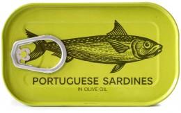 Marks & Spencer Portugalské sardinky v olivovém oleji (24%)