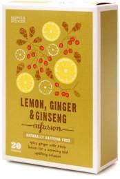 Marks & Spencer Ovocno-bylinný čaj s příchutí citrónu, zázvoru a ženšen