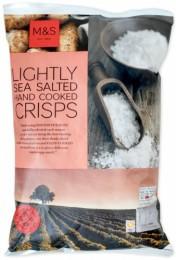 Marks & Spencer Bramborové lupínky jemně solené mořskou solí