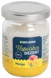 Sklizeno Tapioka dezert s mangem
