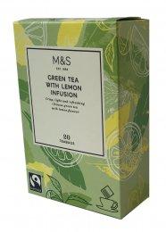 Marks & Spencer Zelený čaj s příchutí citrónu