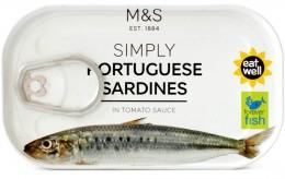 Marks & Spencer Portugalské sardinky v rajčatové omáčce