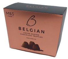 Marks & Spencer Belgické truffles pralinky