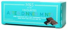 Marks & Spencer After Dinner Mint - hořká čokoláda plněná jemnou mátovou náplní