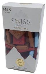 Marks & Spencer Neapolitans - kolekce mini čokolád ze švýcarské čokolády
