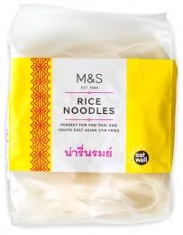 Marks & Spencer Thajské rýžové nudle širší