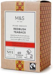 Marks & Spencer Čaj Redbush (Rooibos) bez kofeinu