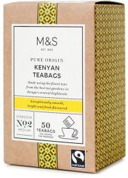 Marks & Spencer Porcovaný keňský černý čaj