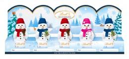Lindt Mini Sněhuláci 5x10 g