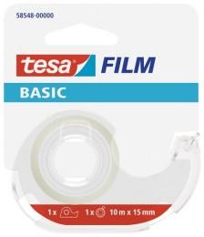 Tesa BASIC kancelářská páska s odvíječem, 15 mm x
