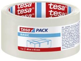 Tesa balicí páska BASIC transparentní, 45 mm x