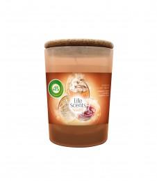 AirWick Life Scents svíčka Vůně vanilkového pečiva