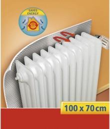 Tesamoll Odrazová fólie za radiátor stříbrná, 1m x 0,7m