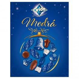 Orion Vánoční kolekce modrá mléčná