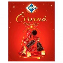 Orion Vánoční kolekce červená hořká