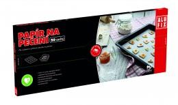Alufix papír na pečení - archy v  krabičce pop up 33x42cm, 50ks